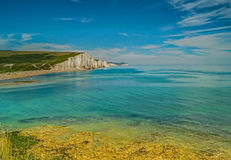 Seven Sisters Cliff View Royalty Free Stock Photo