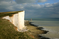 Seven Sisters cliffs Royalty Free Stock Photos