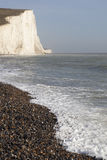 Seven Sisters cliffs, England. Royalty Free Stock Images