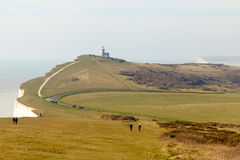 Seven Sisters cliffs, England. Royalty Free Stock Photography