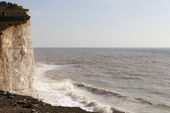 Seven Sisters cliffs, England. Stock Photo