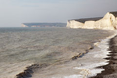 Seven Sisters cliffs, England. Stock Image