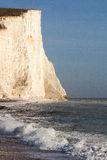 Seven Sisters cliffs, England. Royalty Free Stock Image