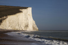 Seven Sisters cliffs, England, UK. Royalty Free Stock Photography