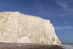 Seven Sisters cliffs, England, UK. Royalty Free Stock Image