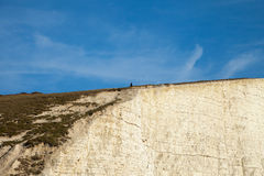Seven Sisters cliffs, England, UK. Stock Photography