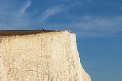 Seven Sisters cliffs, England, UK. Stock Images