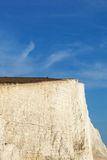 Seven Sisters cliffs, England, UK. Royalty Free Stock Images