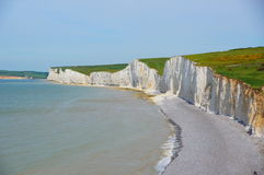 Seven Sisters Cliffs Stock Photo