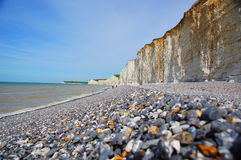 Seven Sisters Cliffs Royalty Free Stock Photo