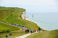 Seven Sisters Cliffs royalty free stock images