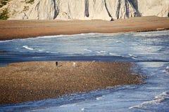 Seven Sisters Cliffs South Downs England landscape Stock Photo