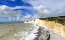 Seven Sisters Cliffs Stock Photos