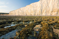 Seven Sisters cliffs, UK. Stock Images