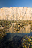 Seven Sisters cliffs, UK. Royalty Free Stock Photo
