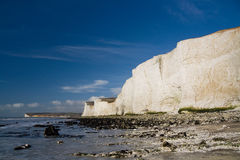 Seven Sisters cliffs, UK. Royalty Free Stock Image