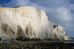 Seven Sisters cliffs, UK. Stock Photo