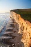 Seven Sisters cliffs, UK. Stock Photos
