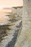 Seven Sisters cliffs, UK. Royalty Free Stock Images