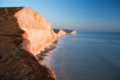 Seven Sisters cliffs, UK. Stock Images