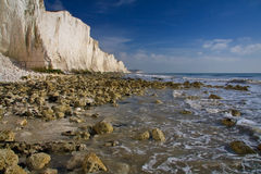 Seven Sisters cliffs. Stock Images