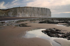 Seven Sisters cliffs. Stock Image