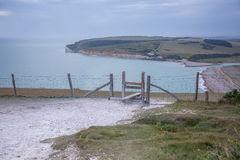 Seven Sisters country park Stock Image