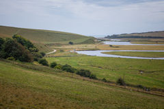 Seven Sisters country park Stock Photos