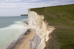 Seven Sisters Country Park Sussex Stock Image