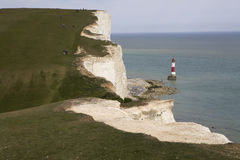 Seven Sisters Country Park Sussex Royalty Free Stock Images