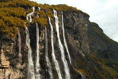 Seven Sisters Falls Stock Photography