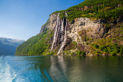 Seven Sisters Falls Stock Images
