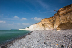 Seven Sisters - famous coast in England Stock Photo