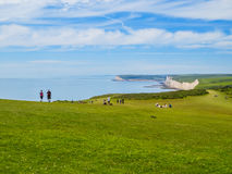 Seven Sisters National Park, East Sussex, England Royalty Free Stock Images
