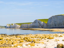 Seven Sisters National Park, East Sussex, England Royalty Free Stock Image