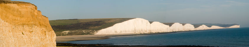 Seven Sisters Panoramic Stock Image