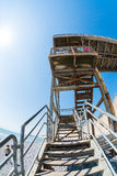 Seven Sisters stairway fisheye Royalty Free Stock Photography