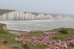The Seven Sisters, Sussex Stock Images