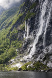 The Seven Sisters waterfall Royalty Free Stock Image