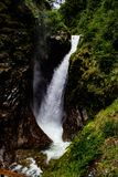 Seven Sisters Waterfall stock image
