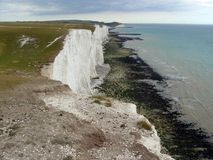 Seven Sisters White Cliffs Royalty Free Stock Photography
