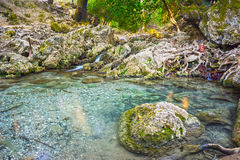 Seven Springs Rhodes Royalty Free Stock Images
