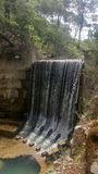 Seven springs in Rhodes Greece Stock Photo