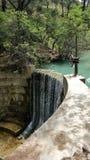 Seven springs in Rhodes Greece Royalty Free Stock Photos