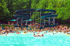 Seven Springs thermal pool Royalty Free Stock Image