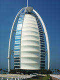 Seven stars Burj Al Arab hotel  in Dubai, UAE Stock Photos