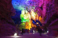 Seven stars cave in Guilin,China Stock Photography
