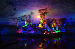 Seven stars cave in Guilin,China Stock Photo