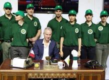 Seven times Grand Slam champion John McEnroe presents  Stock Photos