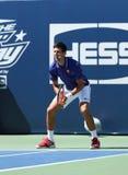 Seven times Grand Slam champion Novak Djokovic  participates at Arthur Ashe Kids day at Billie Jean King National Tennis Center Royalty Free Stock Photo